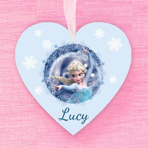 Elsa Personalised Hanging Heart